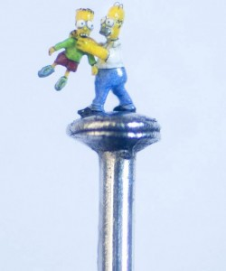 An Artist Creates Amazing Miniature Sculptures Of The Size Of A Sewing Needle Pinhead-13