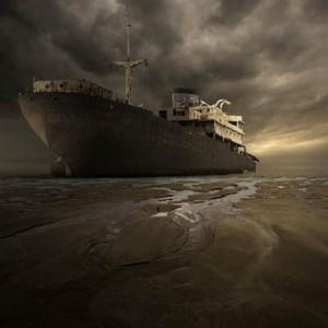 Wrecked World: Stunning Photographic Manipulations Of Abandoned Shipwrecks