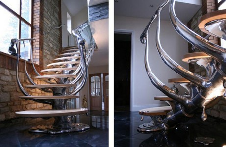 Absolutely Beautiful Staircase Designs That You Would Love To Climb-18