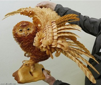 Amazing Lifelike Wooden Sculptures Made By russian sergei-16