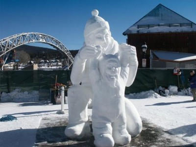 Awesome Ice Sculptures That Will Make Traditional Snowman Jealous-6