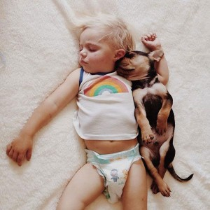 Jessica A stunning Series Of Photograph Immortalizes The Friendship Between A Baby And A Puppy-17