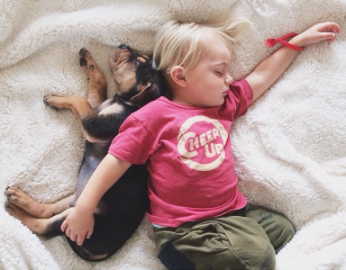 Jessica A stunning Series Of Photograph Immortalizes The Friendship Between A Baby And A Puppy-2