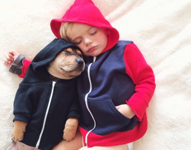 Jessica A stunning Series Of Photograph Immortalizes The Friendship Between A Baby And A Puppy-5