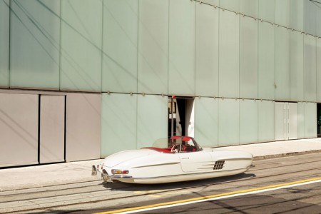 Futuristic Flying Cars' Concept Using Iconic Vintage Cars -12