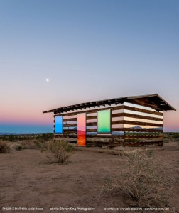 High Desert: An Invisible Hut In The Middle Of The Californian Desert-11