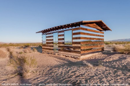 High Desert: An Invisible Hut In The Middle Of The Californian Desert-4