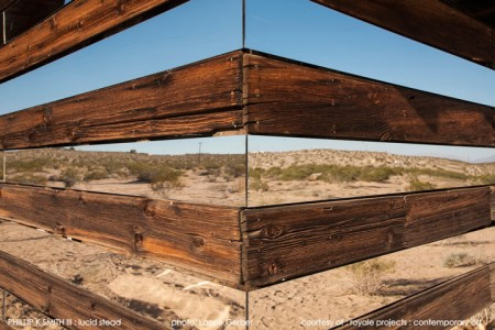High Desert: An Invisible Hut In The Middle Of The Californian Desert-7
