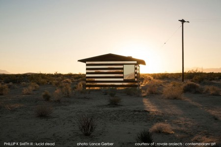 High Desert: An Invisible Hut In The Middle Of The Californian Desert-9