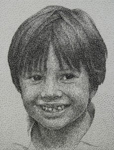 Kumi Makes Beautiful Portraits Made From Nails And A Single Piece Of String-3
