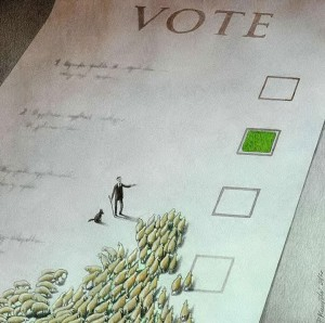 Pawel Kuczynksi satirical illustrations denounce the horrors and paradoxes of the modern world-1