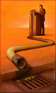 Pawel Kuczynksi satirical illustrations denounce the horrors and paradoxes of the modern world-10