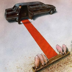Pawel Kuczynksi satirical illustrations denounce the horrors and paradoxes of the modern world-2