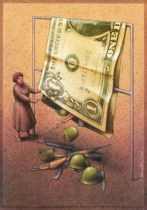 Pawel Kuczynksi satirical illustrations denounce the horrors and paradoxes of the modern world-9