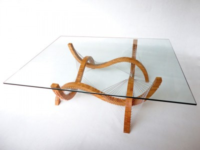 Amazing Furniture Held Together Only By The Tensioned Cables-13