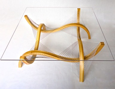 Amazing Furniture Held Together Only By The Tensioned Cables-14