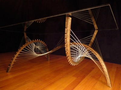 Amazing Furniture Held Together Only By The Tensioned Cables-9