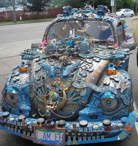 Top 22 Unusual And Crazy Cars That will not go unnoticed-9