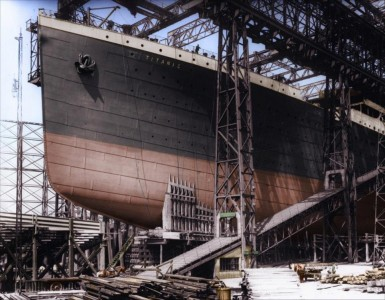 16 Colorized Photos Reveal The Incredible Beauty Of Legendary Titanic Ship-4