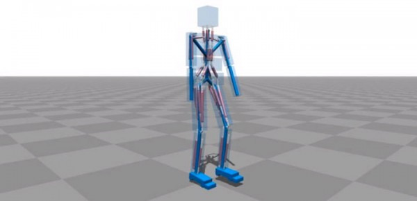 Amazing Computer Program Simulates Body Muscle Actions To Learn Walking-
