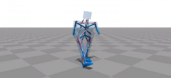 Amazing Computer Program Simulates Body Muscle Actions To Learn Walking-5
