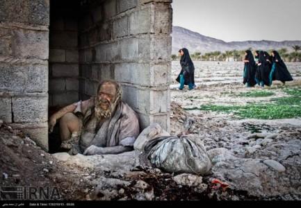 Meet Amoo: An Iranian Who Has Not Taken A Bath Since 60 Years-