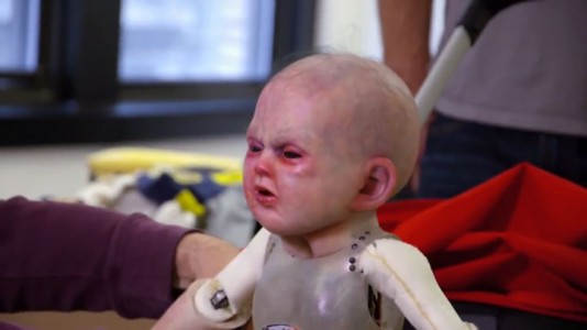 Devil Due-An Abominable Baby Terrorizes The Passers-by In The Streets Of New York-
