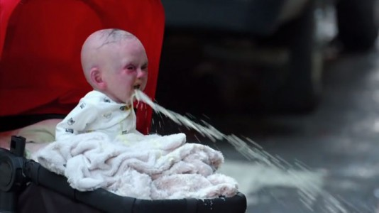 Devil Due-An Abominable Baby Terrorizes The Passers-by In The Streets Of New York-6