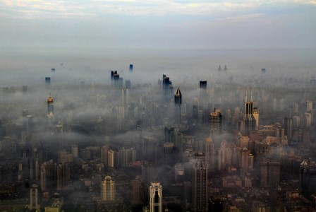 The Beauty Of Shanghai Revealed From A Crane At Height Of 600 Meters-