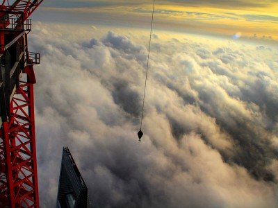 The Beauty Of Shanghai Revealed From A Crane At Height Of 600 Meters-12