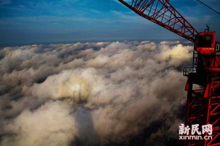 The Beauty Of Shanghai Revealed From A Crane At Height Of 600 Meters-14
