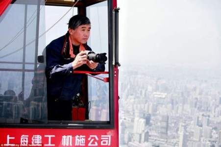 The Beauty Of Shanghai Revealed From A Crane At Height Of 600 Meters-15