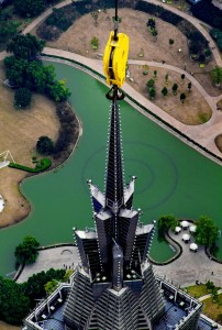 The Beauty Of Shanghai Revealed From A Crane At Height Of 600 Meters-8