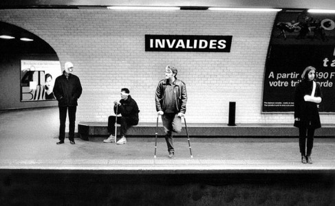 A Photographer Stages Wacky Scenes With Paris Subway Station Names-7