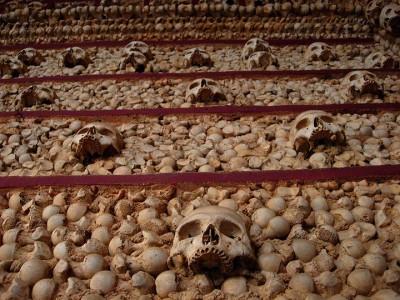 Top 14 Creepy Monuments Erected With Human Bones And Skulls-22