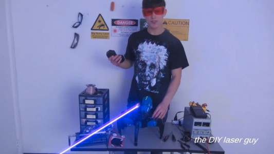 A Hobbyists Make A Drone Bot By Fitting A Robot With Death Ray Laser-10
