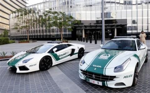 Dubai: The Glamorous Fleet Of Fast Police Cars-