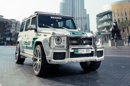 Dubai: The Glamorous Fleet Of Fast Police Cars-1