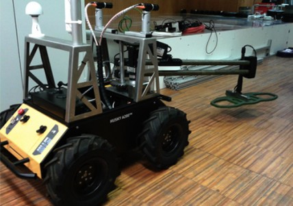 Landmine-detecting Husky Robot For Safe Minesweeping In War Torn Areas-
