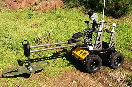 University Of Coimbra Makes Landmine-detecting Husky Robot For Safe Minesweeping In War Torn Areas-