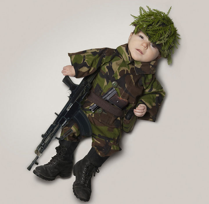 Brice mill A Photographer Visualizes The Possible Future Occupations Of An Adorable Baby-9