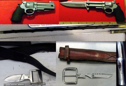Unusual Types Of Arms Captured At The U.S. Airports-5