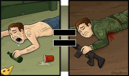 Series Of Hilarious Illustrations Shows How Alcohol Impairs Your Judgment-12