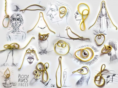 Portugese artist creates Amazing Artworks Created Using Just A Pen And Everyday Objects-10