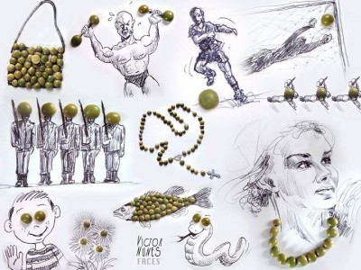 Portugese artist creates Amazing Artworks Created Using Just A Pen And Everyday Objects-12