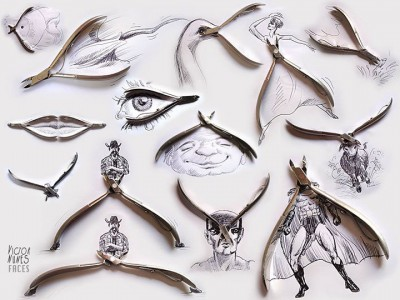 Portugese artist creates Amazing Artworks Created Using Just A Pen And Everyday Objects-16