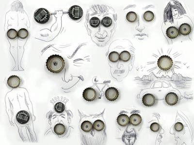 Portugese artist creates Amazing Artworks Created Using Just A Pen And Everyday Objects-2