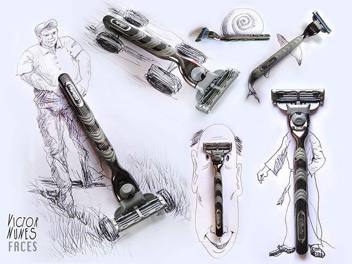 Portugese artist creates Amazing Artworks Created Using Just A Pen And Everyday Objects-3