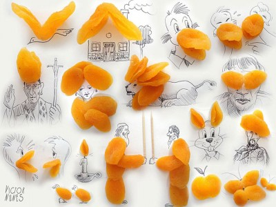 Portugese artist creates Amazing Artworks Created Using Just A Pen And Everyday Objects-6