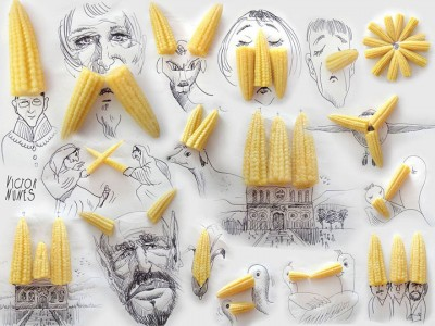 Portugese artist creates Amazing Artworks Created Using Just A Pen And Everyday Objects-8